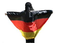 Cape Fahne Deutschland Fanumhang Flagge Fanflagge Umhangfahne 90x150cm Germany