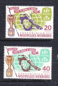 New Hebrides 1966 World Cup Football set MNH