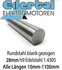 Edelstahl Rundstahl 10mm L 300-1800 mm blank Stab Welle 1.4571 V4A