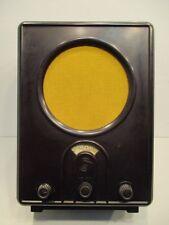 Destinatarios popular/ve 301w/tubos radio/staßfurter radiodifusión GmbH/baquelita/Radio