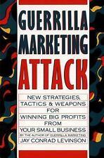 Guerrilla Marketing Attack by Jay Conrad Levinson (1989, Paperback)