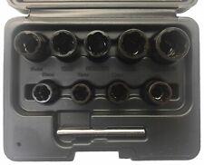 """BGS Werkzeug-besondere Twist Extraktion Steckschlüsselsatz, 9 - 19 MM - 3/8"""" Antrieb, 4090"""