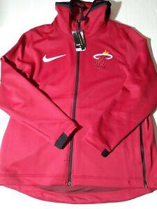 NBA Miami Heat Nike Therma Flex Showtime Jacket Mens XXL Warm Up On Court Finals