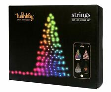 Twinkly 225 LED String Lights | Customizable | App Controlled | WiFi Enabled