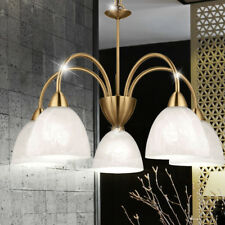Klassischer Decken Lüster Wohn Ess Zimmer Tisch Hänge Lampe Pendel Leuchte E14