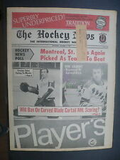 The Hockey News October 17,1969 Vol.23 No.2 Crozier Gilbert Esposito Oct '69