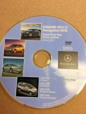 06-08 MERCEDES-BENZ M, R, G &  GL NAVIGATION DVD DISC  BQ 646 0226 Ver. 2007