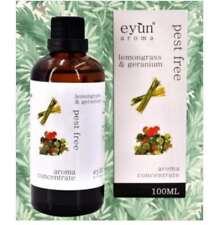 Eyun Aroma Pest Free Lemongrass & Geranium Oil 100ml