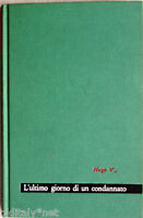 ✅ 1961 Victor Ugo-L'ULTIMO GIORNO DI UN CONDANNATO-Maestri 2-edizioni Paoline