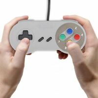 Replacement Game USB Wired Controller Joypad Gamepad for SNES Super Nintendo