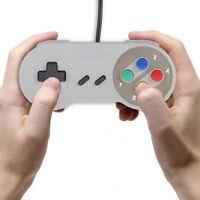 Retro 90s Kid Super USB Controller Jopypads Nintendo SNES for Win PC/MAC Gamepad