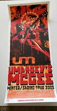 Umphrey's Mcgee Winter/spring 2005 Tour Poster signed 738/800