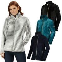 Regatta Womens Halona Fleece Jacket Full Zip Ladies Outdoor Coat