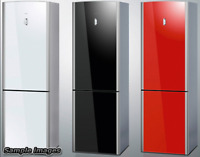 Change Colour of Your Fridge, Vinyl wrap for American Fridges, Scandi Kitchen UK