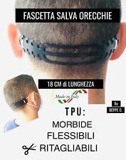 Salva orecchie FLESSIBILE fascia Paraorecchie fascetta Cinta per Mascherina  TPU