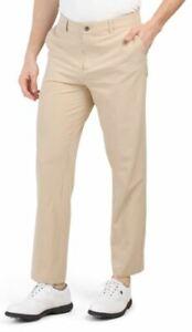New Adidas Ultimate 365 Golf Pants Khaki Tan Stretch Men's 34x32 36x30 36x32 $75