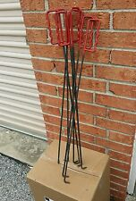 Handheld Meat Butcher Hanging Meat Trolley Movers Lot of 8
