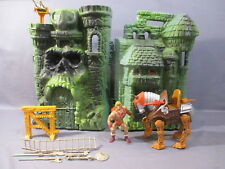 He-Man Lot CASTLE GRAYSKULL HEMAN STRIDOR Masters of the Universe Vintage MOTU