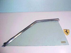Ferrari 365 Window Quarter Glass_Trim Molding Rear Right Side 365GT4 400 412 OEM