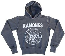 Amplified THE RAMONES Hey Ho Let 's Go Rock Vintage Maglione Hoodie Sweat Shirt G.S