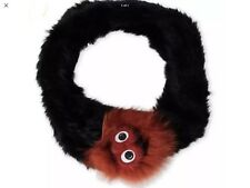 Annabelle Fur Monster Face Infinity Scarf $350 NWT