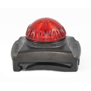 Adventure Lights Guardian Hunting Dog Series Red LED Safety Collar Clip Light
