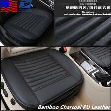 Bamboo Charcoal PU Leather Car Seat Full Surround Cover Breathable Cushion -USA