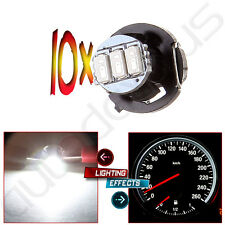 10x Super White T4/T4.2 Neo Wedge 3014 3SMD A/C Climate Control Light LED Lamps