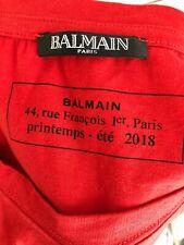 Balmain Mens T Shirt Size Medium (100% Authentic)