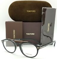 NEW Tom Ford RX Prescription Glasses Black TF5455 001 55mm AUTHENTIC Round 5455
