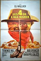 Plakat Kino Les 4 De L' Ave Maria Bud Spencer Terence Hill Elli Wallach