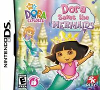 Dora The Explorer: Dora Saves The Mermaids For Nintendo DS DSi 3DS 2DS 9E