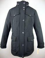 MICHAEL KORS Trenchcoat Mantel Jacke Parka Damen Kapuze Black Gr.XL NEU +ETIKETT