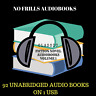 CLASSIC NOVELS Audiobook Collection Volume 1 - 92 MP3 Audiobooks on 1 USB