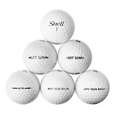 12 Snell Mix Near Mint AAAA Recycled Golf Balls