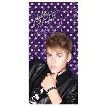 Justin Bieber Purple Beach BathTowel 30x60