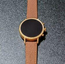 Fossil Women's Gen 4 Venture HR Stainless Steel Touchscreen Smartwatch FTW6011