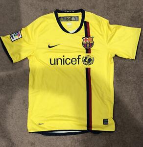 2008-2009 Nike Barcelona Away Shirt (Size: M)