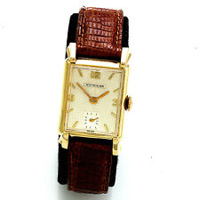 Vintage 17-Jewel Manual Wind Man's Wittnauer Swiss Wrist Watch CA1960s