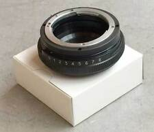 TILT 8° adapter Nikon lens - for Micro 4/3 Olympus Panasonic camera, BR.NEW