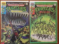 Teenage Mutant Ninja Turtles Adventures (Archie, 1989) #2 & #3 Comic Books