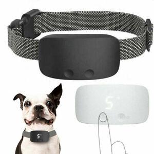 2021 Black Compact Dog Training Anti Bark Collar Shock-vibrate-sound Barking AU