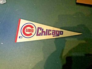 1969 Chicago Cubs Pennant ~Nice~ Sharp