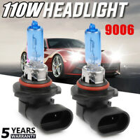 9006 Xenon Headlight 110W 20000LM Halogen FOG Light Bulb 6000K Driving DRL Lamp