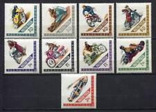 32097) HUNGARY 1962 MNH** Moto & Car races 9v.