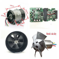 52000RPM Universal Car Electric Turbo Fan Turbo Charger Tan Boost Intake Fans