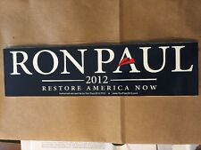 BLUE RON PAUL 2012 OFFICIAL BUMPER STICKER Decal Car Revolution Flat Rate Shippi