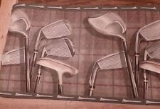 Wall paper border- Golf clubs and tees-prepasted-5 yards x 10.25