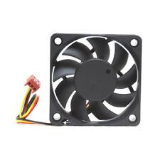 Fan 60x60x10mm 6x6x1cm Mini Small Fan 3Pin Power 5V 60mm 6cm Black