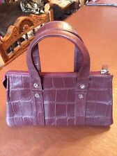 Tommy And Kate, Burgundy Leather Handbag, New Without Tag